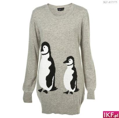 Sweterek w Pingwiny