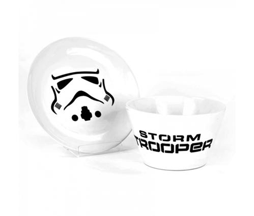 Miska i talerz Stormtrooper