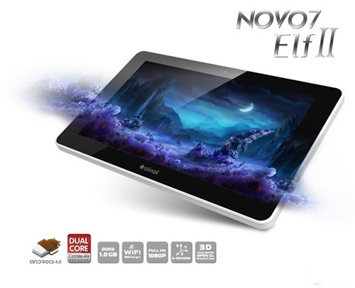 Tablet AINOL Elf 2 II 8gb Dual Core GRY+SKYPE