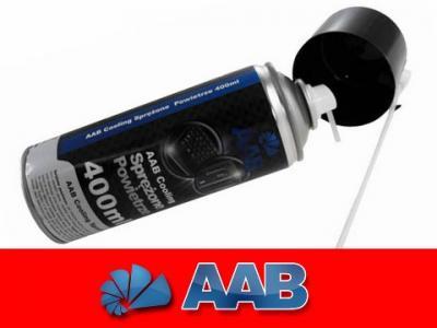 AAB COOLING SPRĘŻONE POWIETRZE 400ml + 2 x RURKA