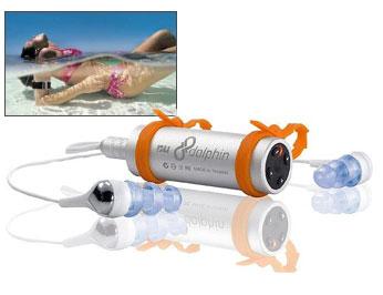 Wodoszczelny odtwarzacz mp3 Dolphin