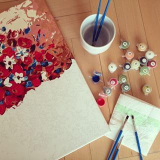 Obraz do malowania po numerkach Artimento