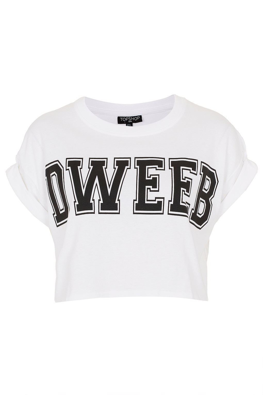 Dweeb Crop Top TopShop