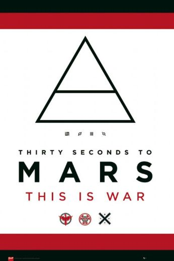 Plakat 30 Seconds To Mars