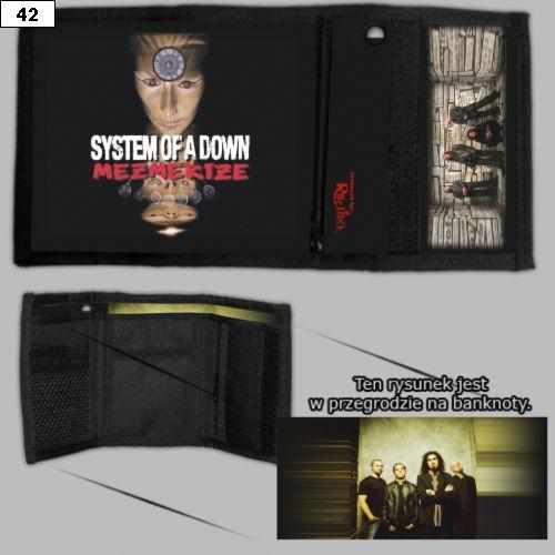 Portfel z z zespołem System Of A Down