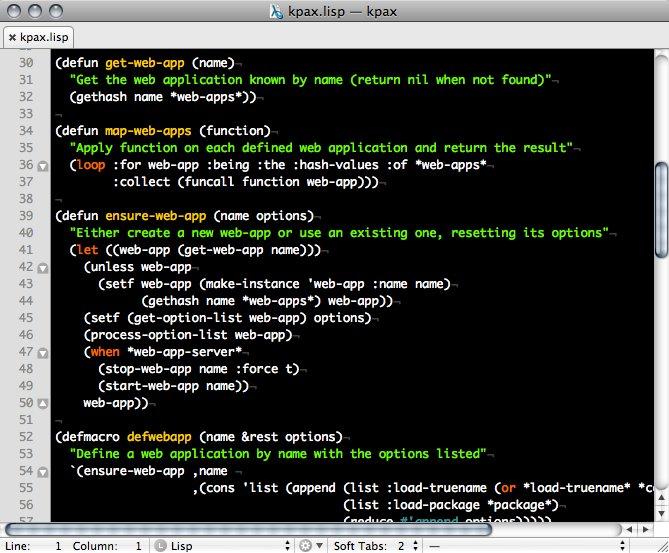 Edytor kodu TextMate