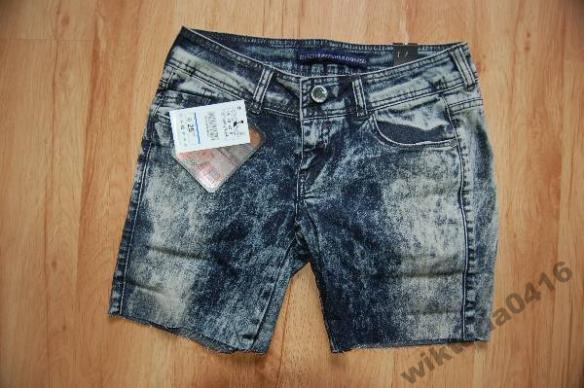 Spodenki marmurki jeans