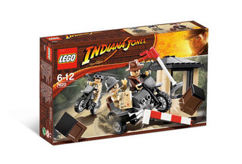 Indiana Jones- Wyścig motocyklowy - Merlin.pl