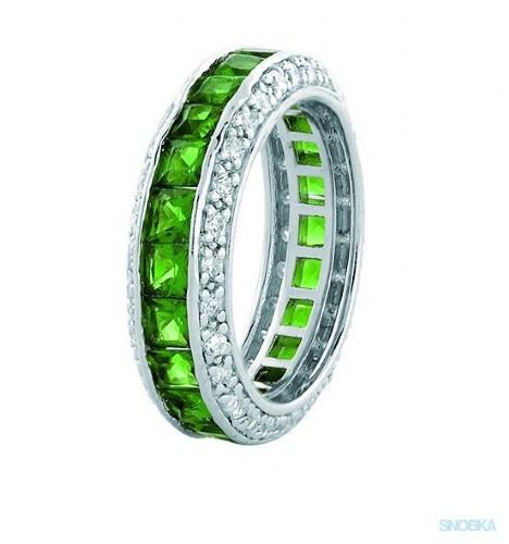 Zielony pierścionek