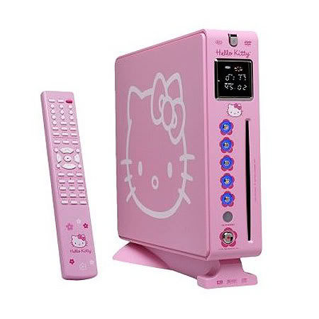 Odtwarzacz dvd z Hello Kitty