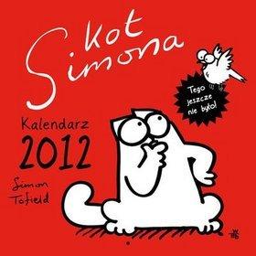 Kot Simona - kalendarz 2012