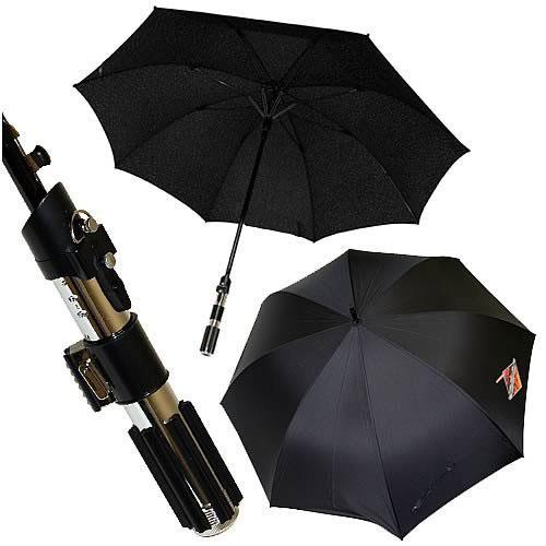 Parasolka miecz świetlny