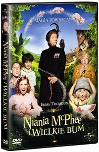 DVD Niania i wielkie bum