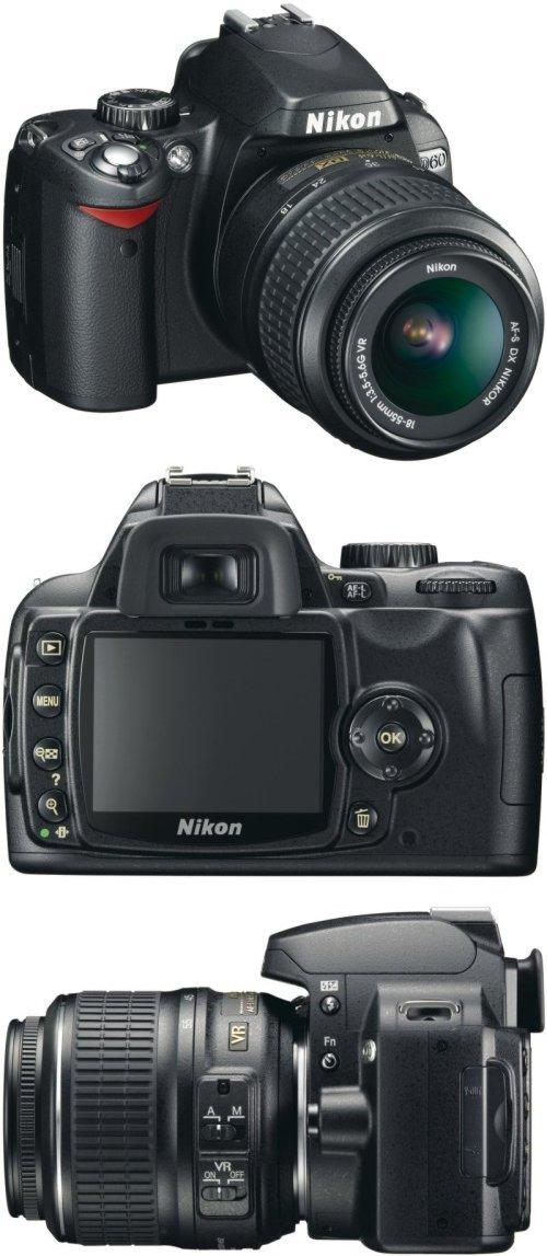 Lustrzanka cyfrowa Nikon D60