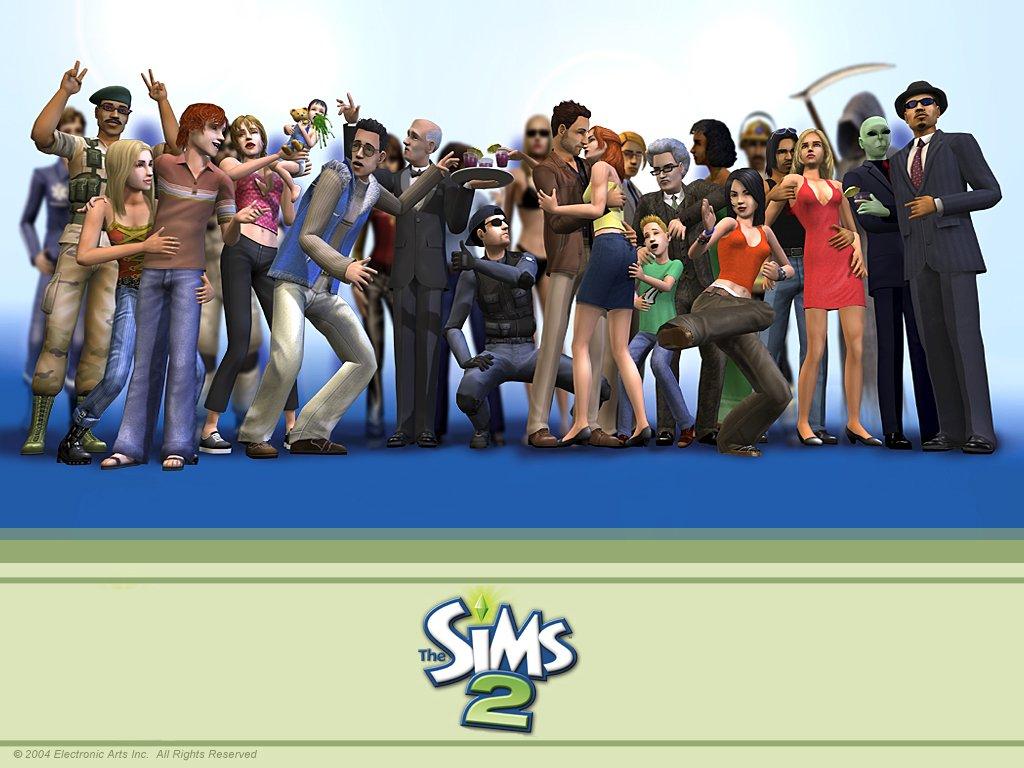 Wszystkie części The Sims 2