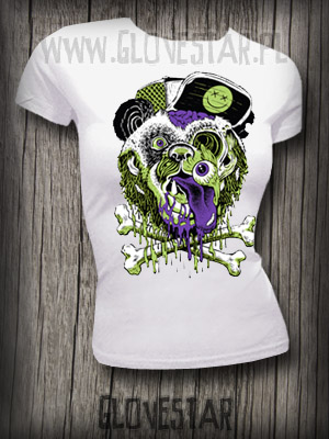 T-shirt Miś Panda blood:: Glovestar