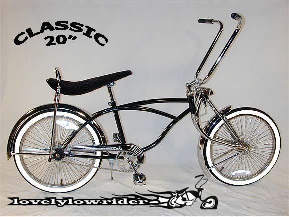 Classic Lowrider Bike
