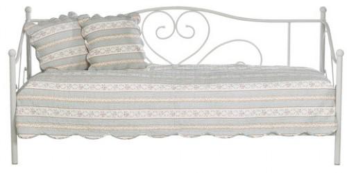 łóżko kremowe rose
