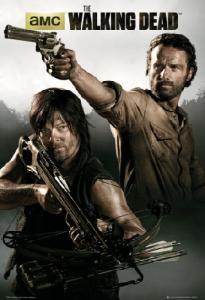 THE WALKING DEAD Rick i Daryl plakat 61x91,5