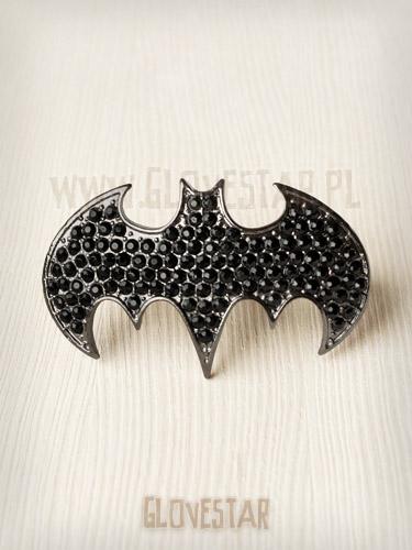 pierścionek BATMAN dwa palce