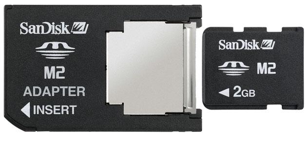 Karta pamięci do Sony Ericsson-ów