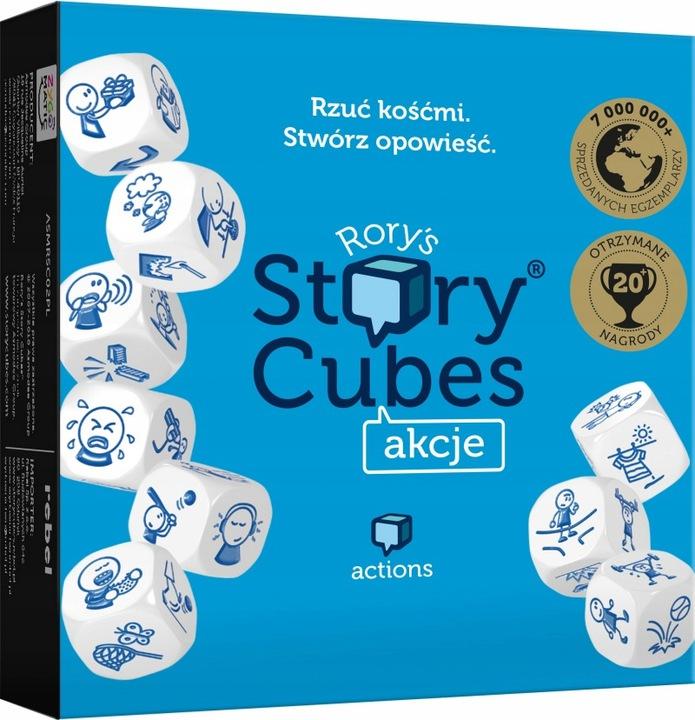 Story Cubes: Akcje - Rebel