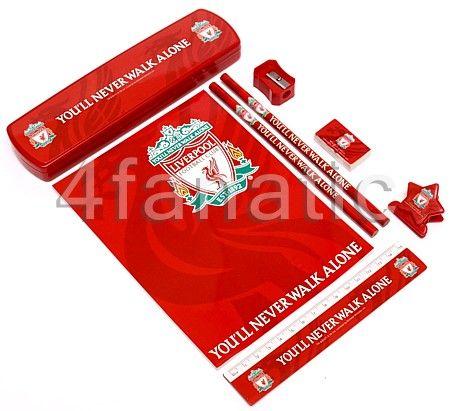 Zestaw 7 Gadzetów Do Szkoły Liverpool FC