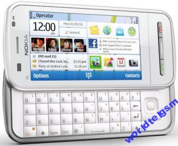 Telefon komórkowy nokia c6 biała