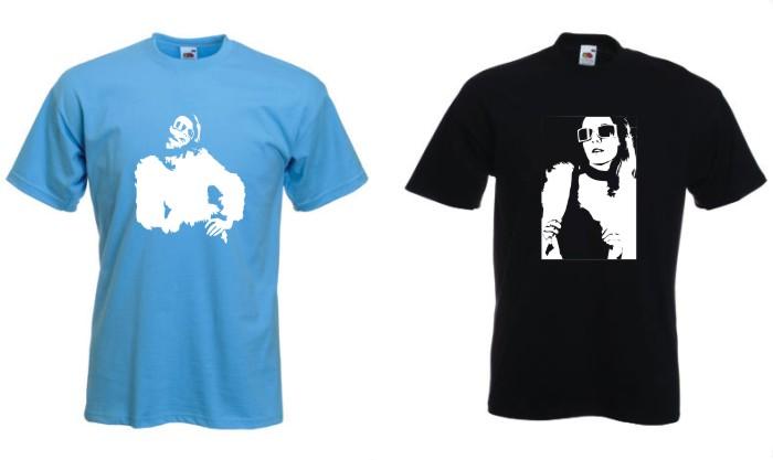 Jakieś dwie fajne koszulki Skate  xD