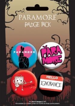 Przypinki Paramore