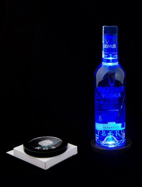 Świecące podstawki pod napoje