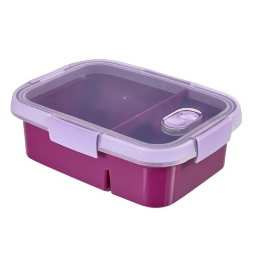 Fioletowy lunchbox Curver Smart To Go (0,6 0,3 L)