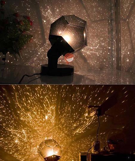 Projektor nieba gwiazd układ planetarny lampka