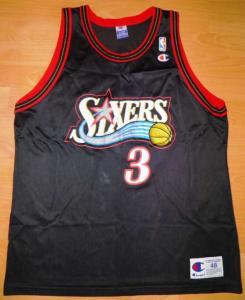 KOSZULKA IVERSON XL- CHAMPION NBA 76ERS