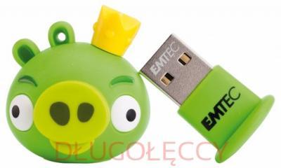 Pendrive 8GB A101 Angry Birds Król Świń EMTEC