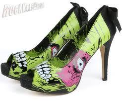 Zombie Stomper Plat - Black Green