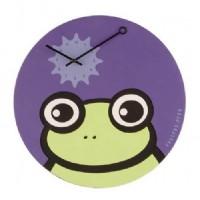 Zegar z żabką xD