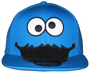 Full cap, cookie monster