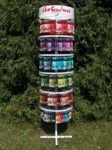 Mulina Ariadna 330 kolorów + Wieszak Stojak Gratis