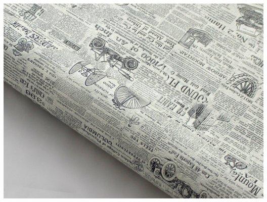 Tapeta z motywem gazety do kuchni