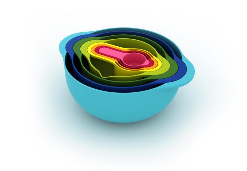 Zestaw kuchenny Nest 8 kolorowy
