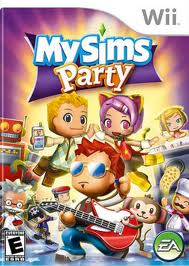 My sims party na wii