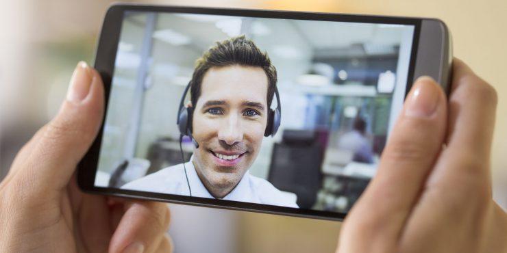 Telefon z wideorozmowami