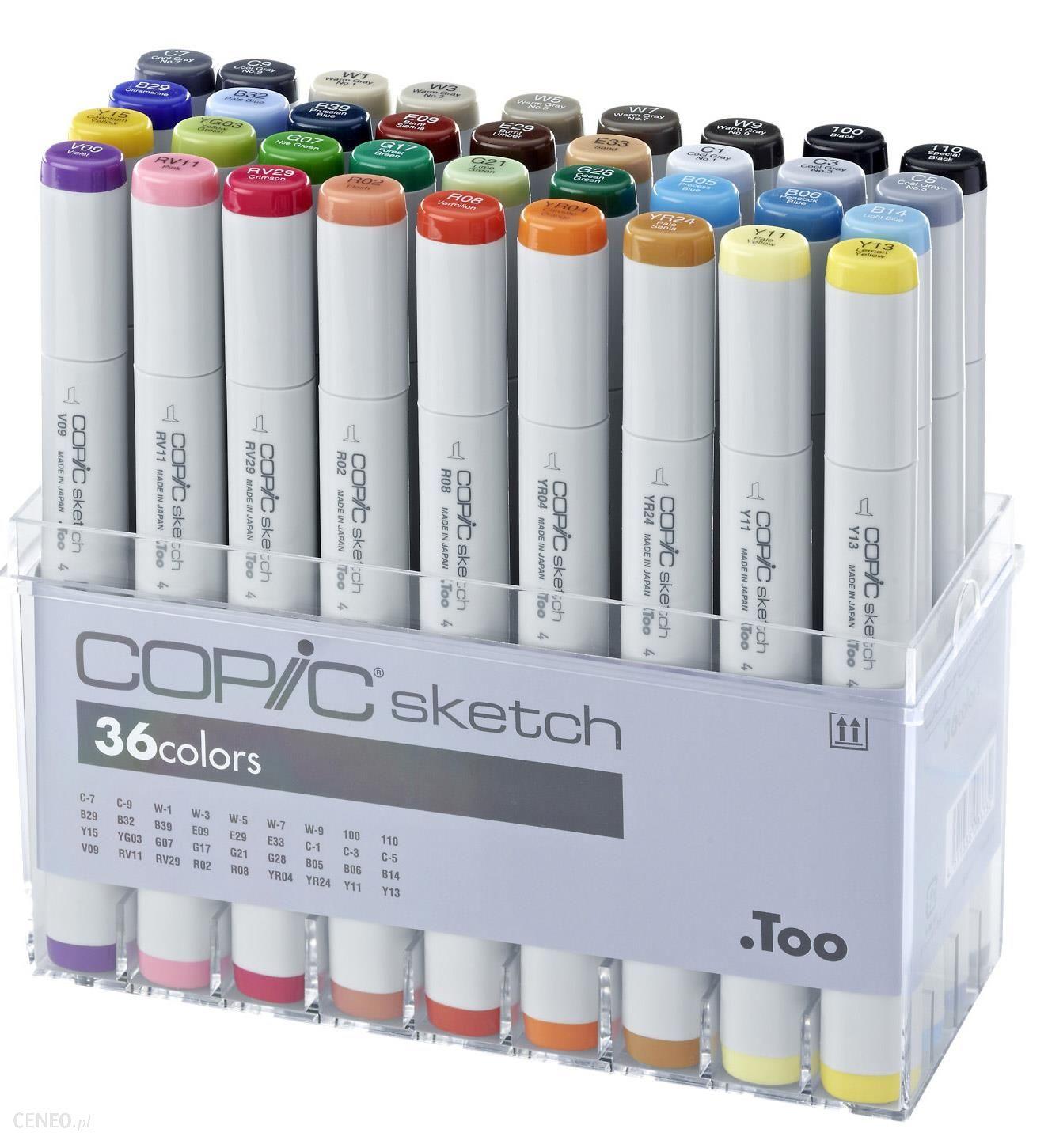 Markery COPIC Sketch - kolory dowolne