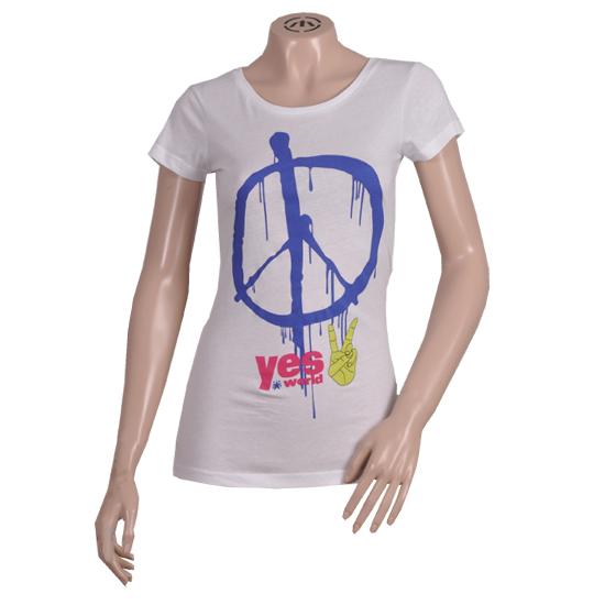 T-shirt z pacyfą