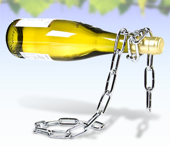 Uwięziona butelka