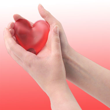 Mini grzejniczek serce:)