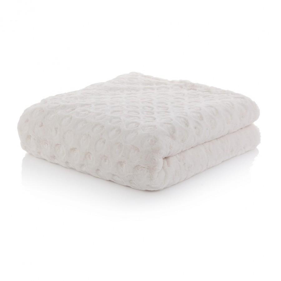 Narzuta na łóżko jasna 220x260