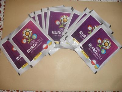 14 Saszetek! PANINI EURO 2012