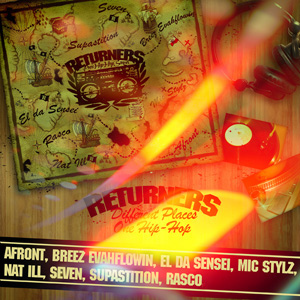Returners - Different Places One Hip Hop [CD]